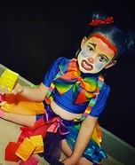 Madmia Clown Homemade Costume