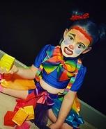 Madmia Clown Homemade Costume