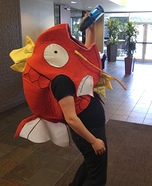 Magikarp Homemade Costume