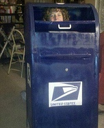 Homemade Mail costume