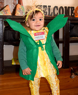Maizie the Corn Cob Homemade Costume
