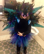 Majestic Peacock Homemade Costume