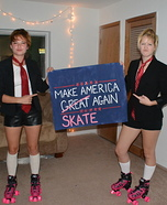 Make America SKATE Again Homemade Costume