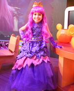 Mal Descendants 2 Dress Homemade Costume