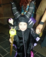 Homemade Girl's Maleficent Costume