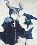 Beautiful DIY Maleficent Costume