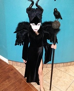 Homemade Maleficent Costume