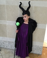 Halloween costume ideas for girls: Homemade Maleficent Costume