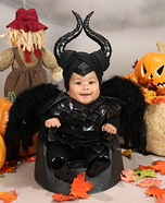Cute baby costume ideas: Maleficent Baby Costume