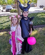 Maleficent and Aurora Homemade Costume