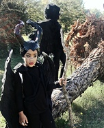Maleficent and Diaval the Crow Homemade Costumes