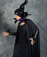 Maleficent at the Costume Ball Homemade Costume