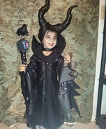 Maleficent Girl Homemade Costume