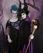 Maleficent & Hades Homemade Costume