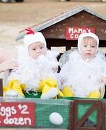 Mama's Chicken Coop Homemade Costume