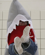 Homemade Man Eating Shark Costume