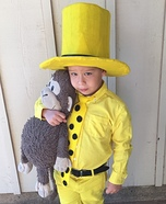 Man in the Yellow Hat Homemade Costume