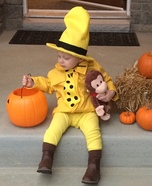 Children's book Halloween costumes - Man in the Yellow Hat Costume