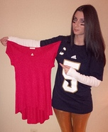 Manti Te'o and Imaginary Girlfriend Homemade Costume