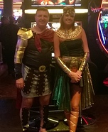 Marcus Antonius & Cleopatra Homemade Costume