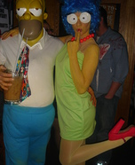 Marge and Homer Costumes