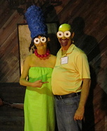 Marge & Homer Homemade Costume