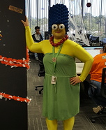 Marge Simpson Homemade Costume