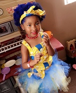 Marge Simpson Girl Homemade Costume