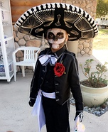 Mariachi Skeleton Homemade Costume