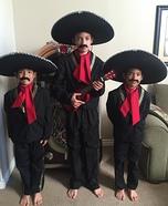 Mariachi Trio Homemade Costume