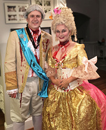 Marie Antionette & Louis XVI Homemade Costume