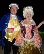Marie Antoinette and Louis XVI Homemade Costume