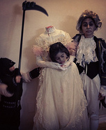 Marie Antoinette, her Executioner, and Louis XVI Costume