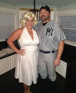Marilyn and Joe Homemade Costume