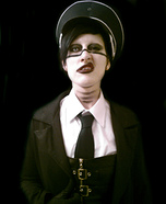 Marilyn Manson Homemade Halloween Costume