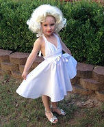 Marilyn Monroe Homemade Costume