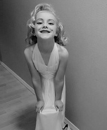 Marilyn Monroe Girl Homemade Costume