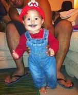 Mario Baby Costume