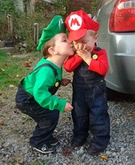 Mario and Luigi Boys Costume