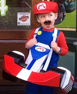 Mario and Luigi Karts Homemade Costume
