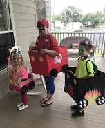 Mario Cart Homemade Costume