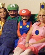 Mario Family Homemade Costume