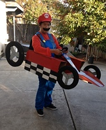 Mario Kart Homemade Costume