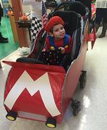 Mario Kart Stroller Costume