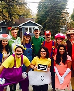 Mario Kart Group Halloween Costume