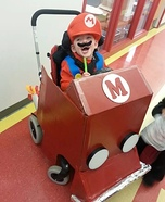 Mario Kart Baby Homemade Costume