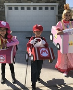 Mario Kart Racers Homemade Costume