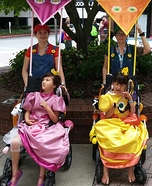 Mario Karts Homemade Wheelchair Costumes