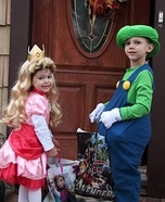 Mario, Luigi and Princess Peach Costume