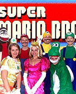 Mario Bros Group Costume